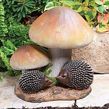 Toadstool Hedgehogs Small Kelkay Collectable Creature