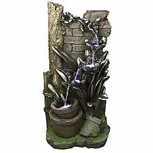 Kelkay Enchanted Garden Easy Fountain Water Feature