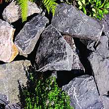 Kelkay Black Mountain Rockery Stone Bulk Pallet