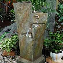 Triangular 3 Fall Water Feature