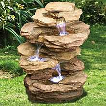 3 Fall Sandstone Rock Water Feature