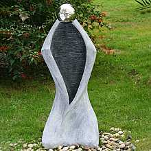 Granite Ripple Man Water Feature