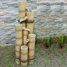 Medium Bamboo Poles Water Feature