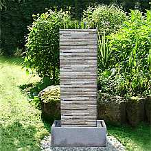 Genoa Zinc Metal Water Feature