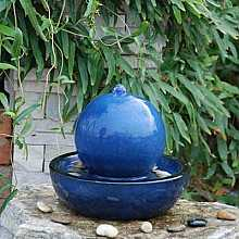 Veronica Ceramic Table Top Indoor Water Feature