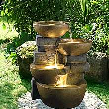 Orba Bowls Kelkay Easy Fountain With LEDs