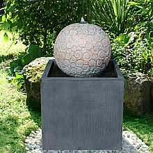 Liverno Zinc Metal Water Feature