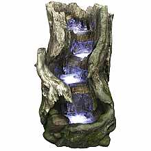 Kelkay Rustic Beech Falls Easy Fountain