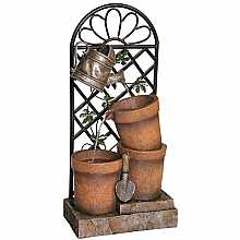 Kelkay Trellis Garden Easy Fountain Water Feature