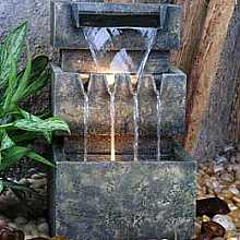 Medium 3 Level Cascade Water Feature