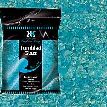 Kelkay Tumbled Glass Blue Ice