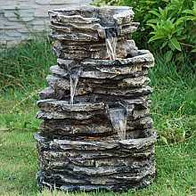 Medium 4 Pool Rock Water Feature