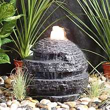 Rustic Sphere Marble Water Feature