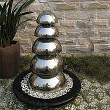 Bologna Stainless Steel Fountain Water Feature