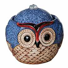 Kelkay Betty Blue Owl Water Feature