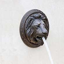 Lion Head Fountain Bronze
