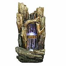 Kelkay Woodland Falls Water Feature with LED Lights