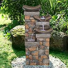 3 Fall Brick Effect Water Feature
