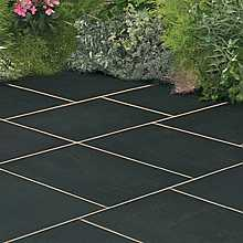Galaxy Paving Meteor Black Random Patio Kit 14 square metres