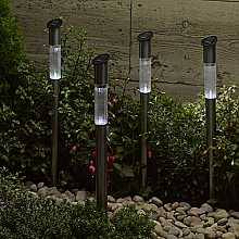 Stainless Steel Mast Light, 6 pack by Smart Solar