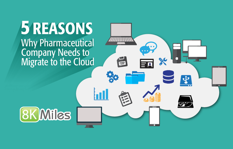 5 Reasons Why Pharmaceutical Company Needs to Migrate to the Cloud