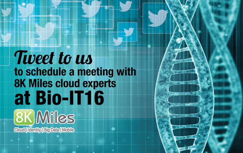 Meet 8K Miles Cloud Experts at Bio-IT World Conference & Expo '16