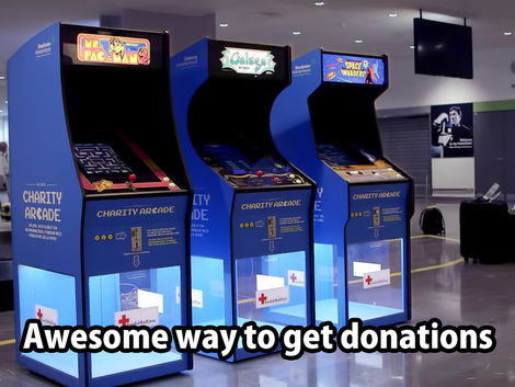 Epic way to get donations