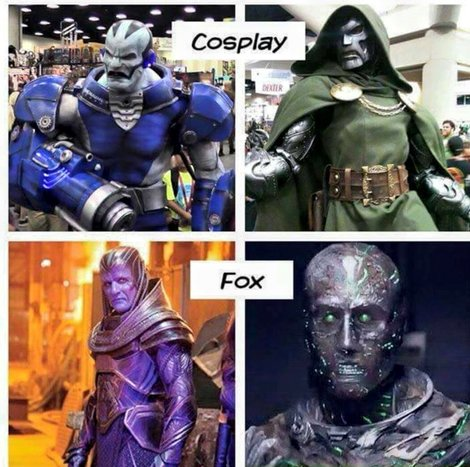 When the cosplay is better