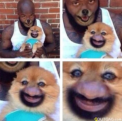 When face swap goes right