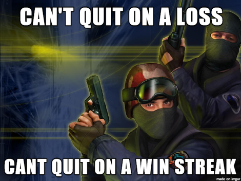 Why i never quit gaming