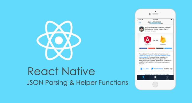 React Native Template Design
