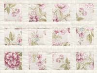 Rose Floral Delight Crib Quilt