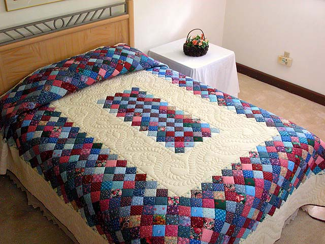 Как пошить лоскутное одеяло своими руками