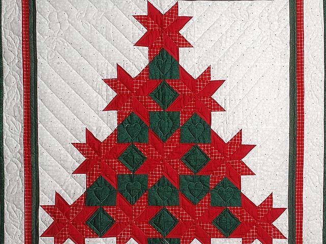 Лоскутное шитье рождество