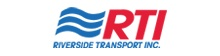 Riverside Transport Inc.  (855) 883-0914 logo