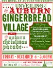 Unveiling the 2013 Auburn Gingerbread Village