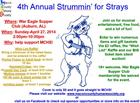 Macon County Humane Society's 4th Annual Strummin' for Strays Fundraising Event
