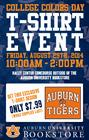 College Colors Day T-Shirt Event