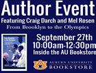 Author Event: Mel Rosen and Craig Darch at the AU Bookstore