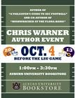 Chris Warner Author Event at the AU Bookstore