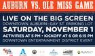 AU Football vs. Ole Miss Downtown Watch Party