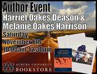 Oakes Sisters Author Event at the AU Bookstore