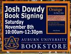 Josh Dowdy Author Event at the AU Bookstore