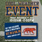 Cool Weather Event at the AU Bookstore