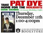 Pat Dye Book Signing at the AU Bookstore