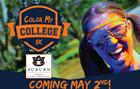 Color My College 5K: Auburn University