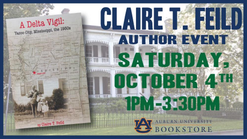 Claire T. Feild Author Event