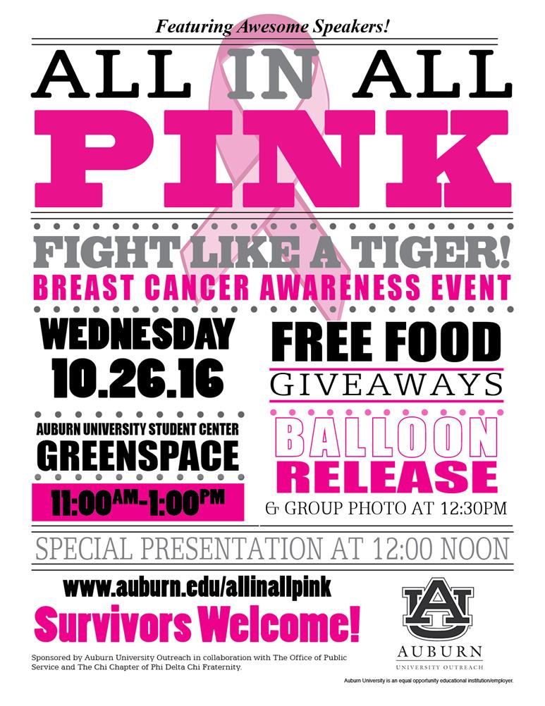 All In All Pink Breast Cancer Awareness Event