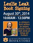 Author Event: Auburn Football ABC's: A Tiny Tiger's Guide to All Things Gameday
