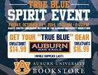 TRUE BLUE Spirit Event at the AU Bookstore